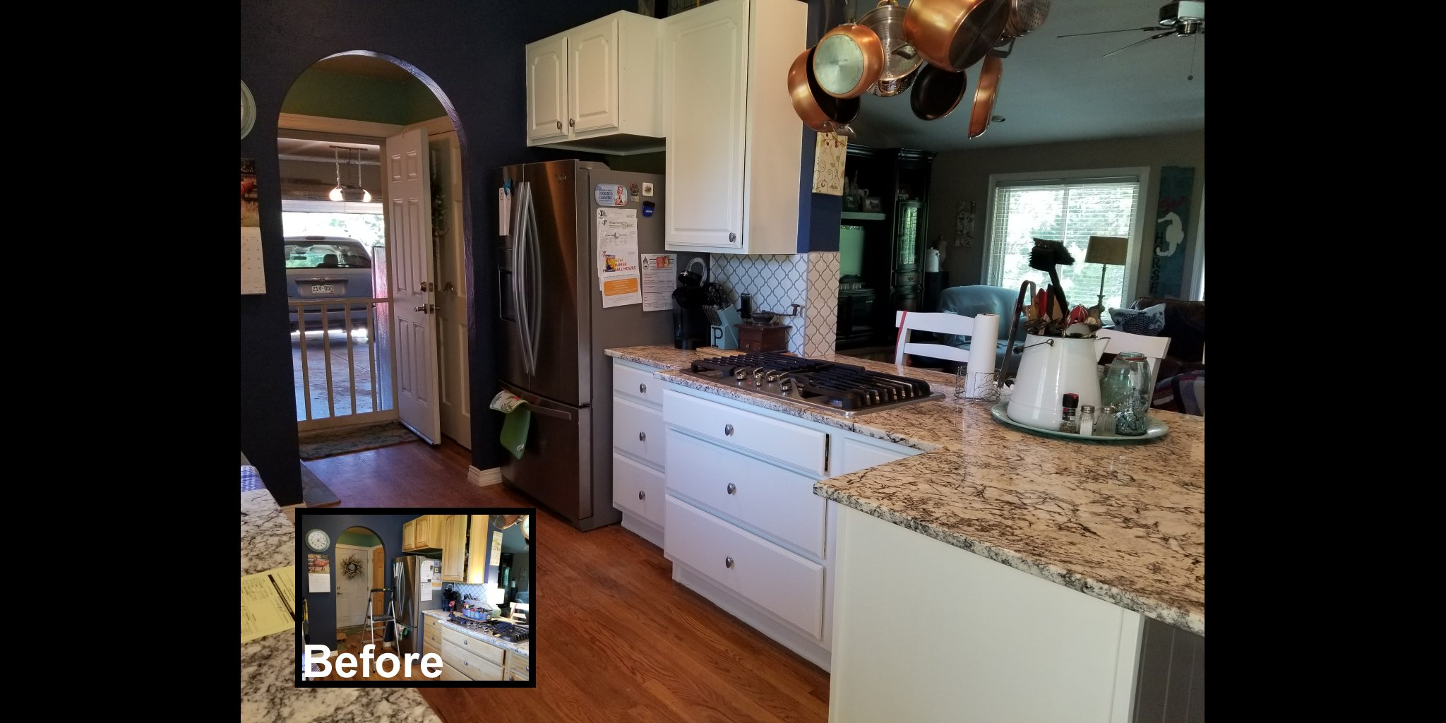 Kitchen Cabinets Colorado Springs Before And After Resurectedcc